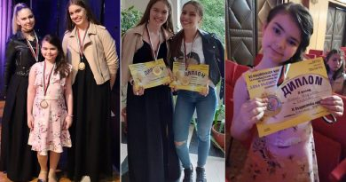 Три златни и сребърен медал за Школа,,Орфей'' на конкурса ,,Една българска роза''