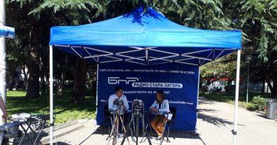 Изнесеното студио на Радио Стара Загора гостува на Казанлък